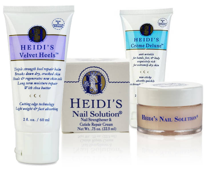 HEIDI'S creams and solutions