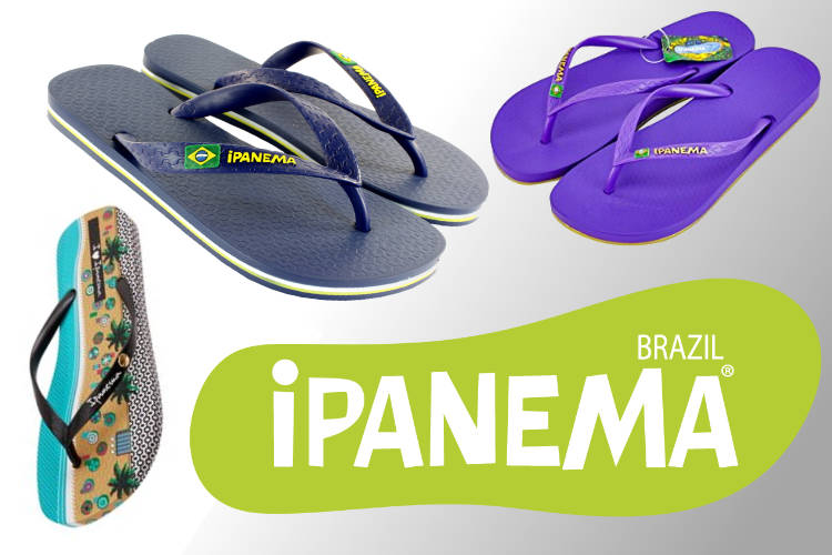 iPanema sandal and flip flop collection from Brazil